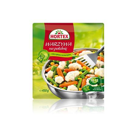 Warzywa na patelnię z lubczykiem i rozmarynem marki Hortex - zdjęcie nr 1 - Bangla