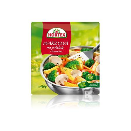Warzywa na patelnie z koperkiem marki Hortex - zdjęcie nr 1 - Bangla