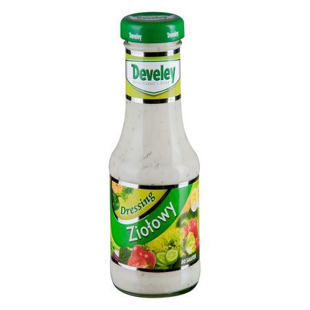 Dressing ziołowy, butelka, saszetka marki Develey - zdjęcie nr 1 - Bangla