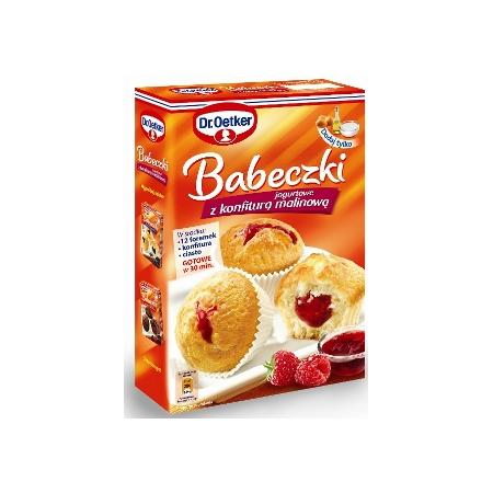 Babeczki jogurtowe z konfiturą malinową marki Dr Oetker - zdjęcie nr 1 - Bangla