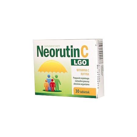 Neorutin C LGO, tabletki marki Lab. Galenowe Olsztyn - zdjęcie nr 1 - Bangla