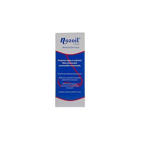 Nozoil, aerozol do nosa marki Pharmacure - zdjęcie nr 1 - Bangla