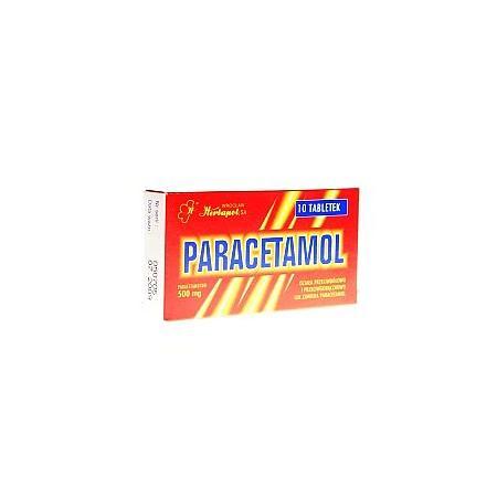 Paracetamol, tabletki marki Herbapol Wrocław - zdjęcie nr 1 - Bangla