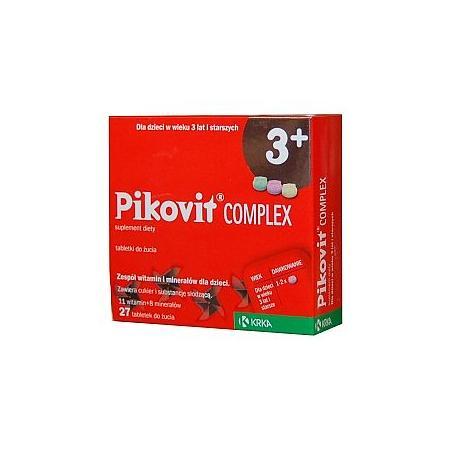 Pikovit Complex 3+, tabletki do żucia marki Krka - zdjęcie nr 1 - Bangla