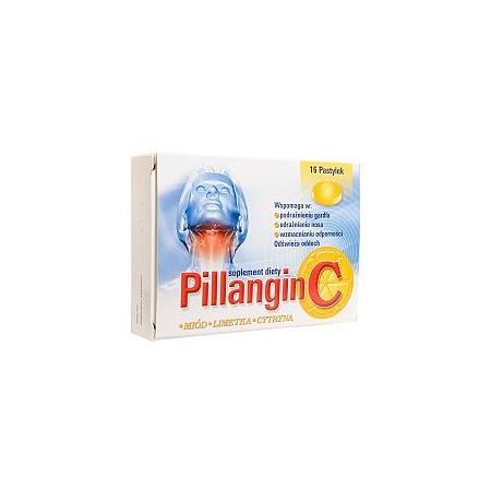 Pillangin C, pastylki do ssania, miód, limetka, cytryna marki Ratiopharm - zdjęcie nr 1 - Bangla