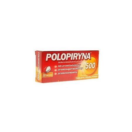 Polopiryna, tabletki dojelitowe, 500 mg marki Polpharma - zdjęcie nr 1 - Bangla