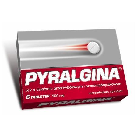 Pyralgina, tabletki 500 mg marki Polpharma - zdjęcie nr 1 - Bangla