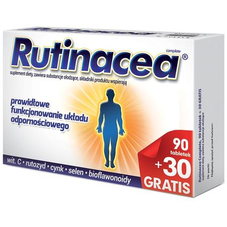 Rutinacea Complete, suplement diety - tabletki marki Aflofarm - zdjęcie nr 1 - Bangla