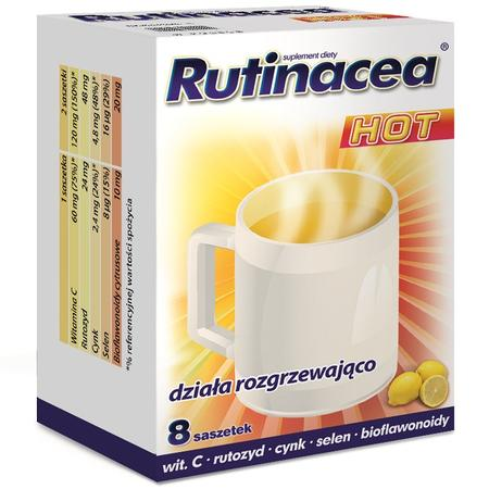 Rutinacea Hot, suplement diety - saszetki marki Aflofarm - zdjęcie nr 1 - Bangla