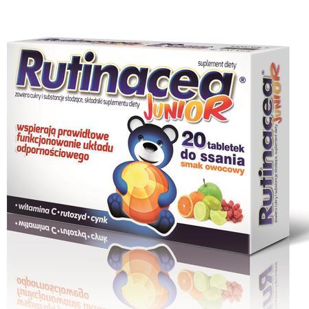 Rutinacea Junior, suplement diety - tabletki do ssania marki Aflofarm - zdjęcie nr 1 - Bangla