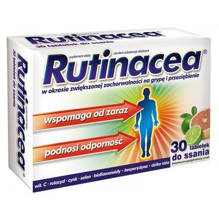 Rutinacea, tabletki do ssania (stara wersja) marki Aflofarm - zdjęcie nr 1 - Bangla