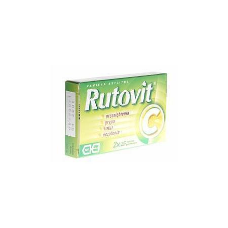 Rutovit C, tabletki powlekane marki Teva Kutno - zdjęcie nr 1 - Bangla