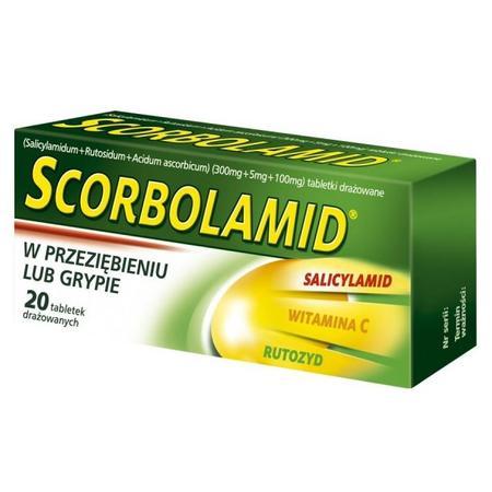 Scorbolamid, drażetki marki Polpharma - zdjęcie nr 1 - Bangla