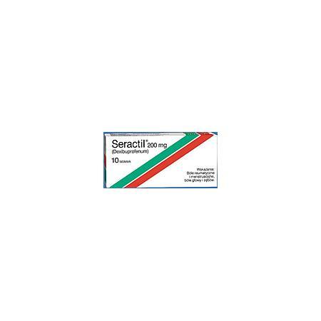 Seractil, tabletki 200 mg, 400 mg marki Biofarm - zdjęcie nr 1 - Bangla