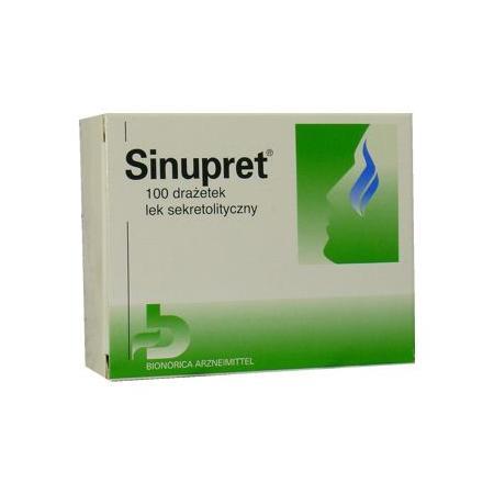 Sinupret tabletki marki Bionorica - zdjęcie nr 1 - Bangla