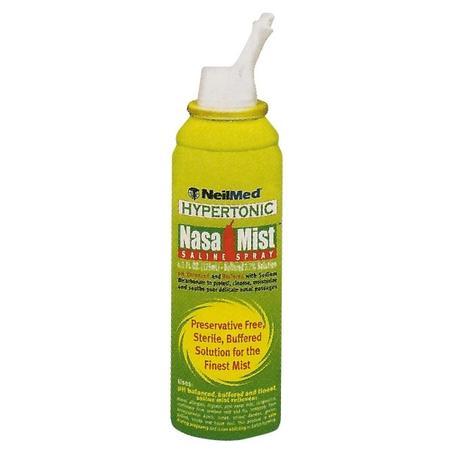 NasaMist Saline Spray Hypertonic, solankowy sprej hipertoniczny marki NeilMed - zdjęcie nr 1 - Bangla