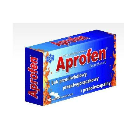 APROFEN, Ibuprofenum, tabletki powlekane marki Polfarmex - zdjęcie nr 1 - Bangla