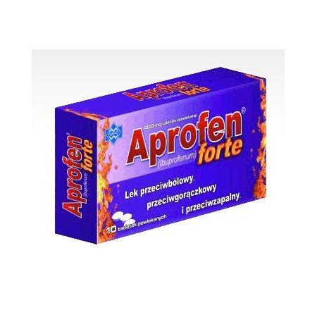 APROFEN Forte, Ibuprofenum 400 mg, tabletki powlekane marki Polfarmex - zdjęcie nr 1 - Bangla