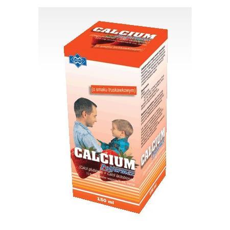 Calcium, Syrop, różne smaki marki Polfarmex - zdjęcie nr 1 - Bangla