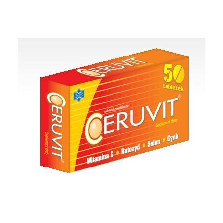 Ceruvit, tabletki marki Polfarmex - zdjęcie nr 1 - Bangla