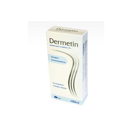 Dermetin, szampon przeciwłupieżowy, 2% Ketokonazolu marki Polfarmex - zdjęcie nr 1 - Bangla