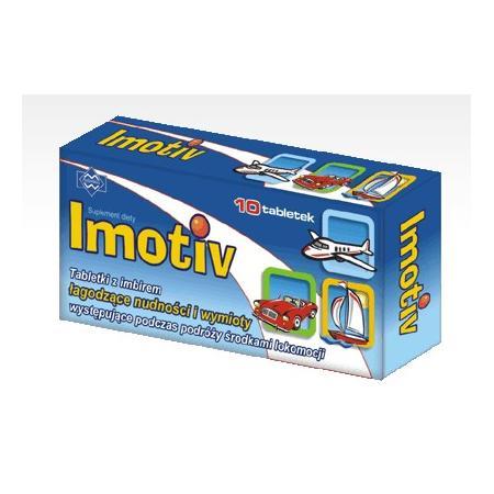 Imotiv, tabletki z imbirem marki Polfarmex - zdjęcie nr 1 - Bangla