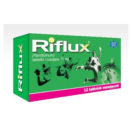 Riflux, tabletki musujące marki Polfarmex - zdjęcie nr 1 - Bangla