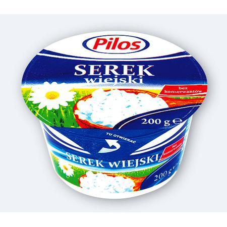 Pilos serek wiejski marki Lidl - zdjęcie nr 1 - Bangla