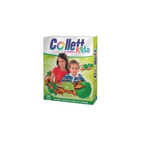 Collett Kids tabletki do ssania witaminy + minerały marki Axellus - zdjęcie nr 1 - Bangla