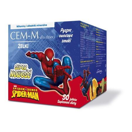 CEM - M Hello Kitty lub Spiderman - żelki multiwitaminowe marki Walmark - zdjęcie nr 1 - Bangla