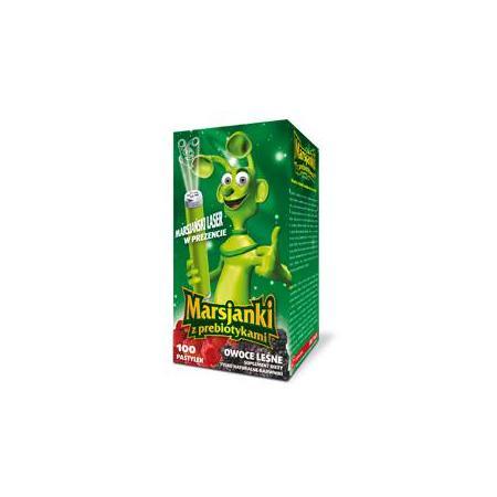 Marsjanki z prebiotykami - pastylki do ssania marki Walmark - zdjęcie nr 1 - Bangla