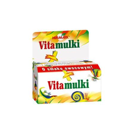 Vitamulki - tabletki do ssania witaminy i jod marki Walmark - zdjęcie nr 1 - Bangla