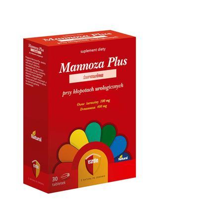 Mannoza Plus żurawina, tabletki marki Virde - zdjęcie nr 1 - Bangla