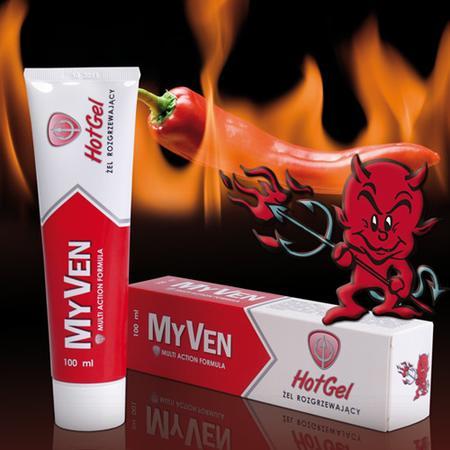 MyVen Hot Gel, żel rozgrzewający marki Tactica - zdjęcie nr 1 - Bangla