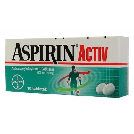 Aspirin Activ marki Bayer - zdjęcie nr 1 - Bangla
