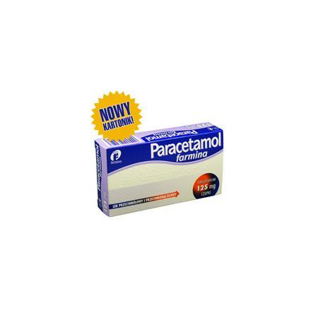 Paracetamol 125 mg, czopki dla dzieci od 2 lat marki Farmina - zdjęcie nr 1 - Bangla