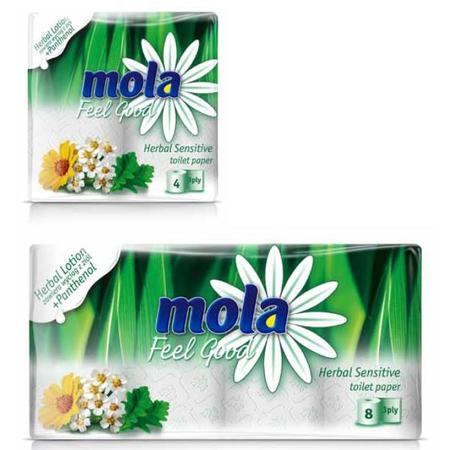 Papier toaletowy Mola Herbal Sensitive marki Mola - zdjęcie nr 1 - Bangla
