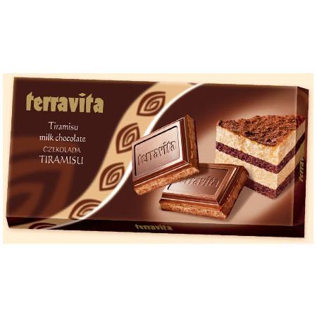 Tiramisu, czekolada nadziewana marki Terravita - zdjęcie nr 1 - Bangla
