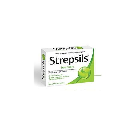 Strepsils bez cukru marki Reckitt Benckiser - zdjęcie nr 1 - Bangla