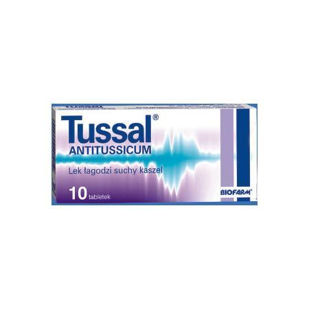 Tussal Antitussicum, tabletki powlekane marki Biofarm - zdjęcie nr 1 - Bangla