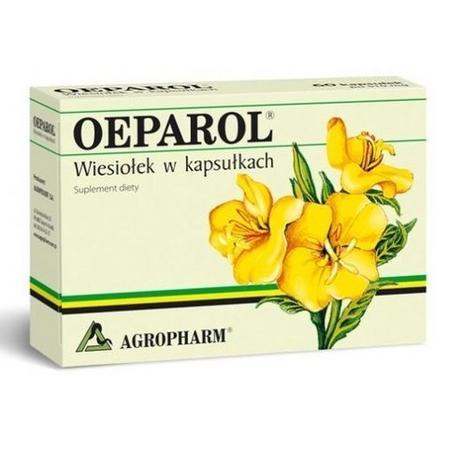 Oeparol, Wiesiołek w kapsułkach marki Agropharm - zdjęcie nr 1 - Bangla