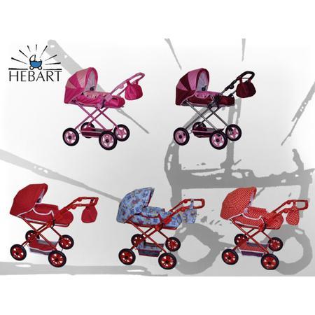 Wózek dla lalek Lux lub Sport marki Hebart - zdjęcie nr 1 - Bangla