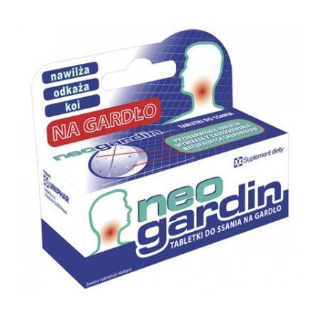 NeoGardin, tabletki na gardło marki Uniphar - zdjęcie nr 1 - Bangla