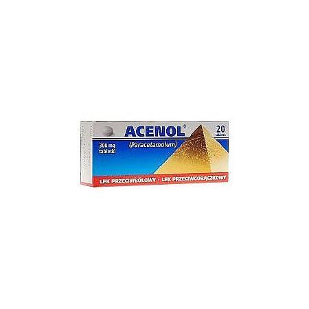 Acenol 300 mg, Acenol Forte 500 mg marki Galena - zdjęcie nr 1 - Bangla