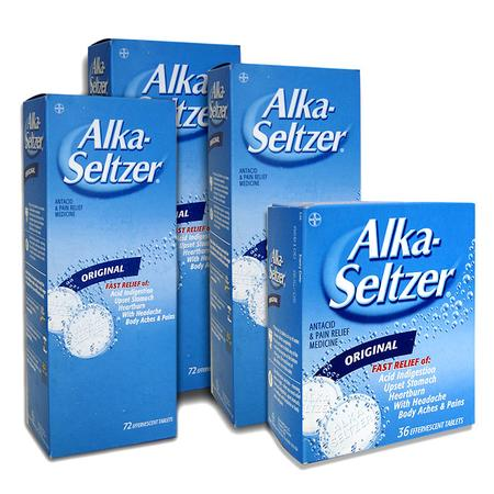 Alka-Seltzer, tabletki musujące marki Bayer - zdjęcie nr 1 - Bangla