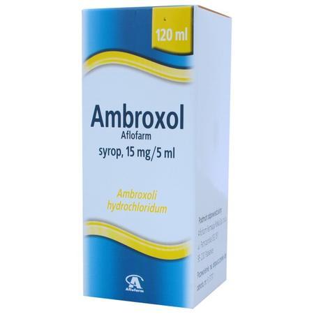 Ambroxol, syrop 15mg/5ml lub 30mg/5ml marki Aflofarm - zdjęcie nr 1 - Bangla