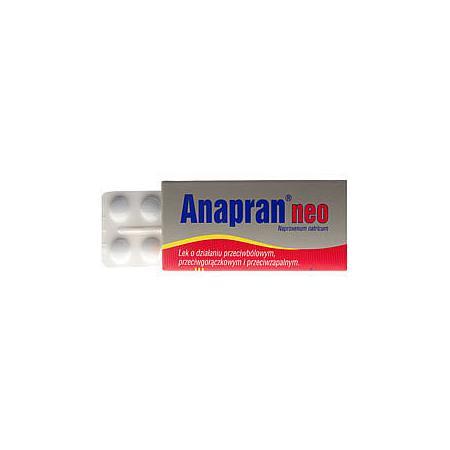 Anapran Neo-Anapran, tabletki, 220 mg marki Polfa Pabianice - zdjęcie nr 1 - Bangla