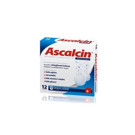 Ascalcin, tabletki musujące marki Polfa Łódź - zdjęcie nr 1 - Bangla