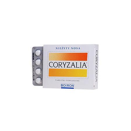 Coryzalia, tabletki powlekane, nieżyty nosa marki Boiron - zdjęcie nr 1 - Bangla