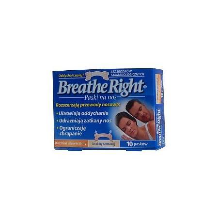 Breathe Right, paski na nos ułatwiajace oddychanie marki SmithKline Beecham - zdjęcie nr 1 - Bangla